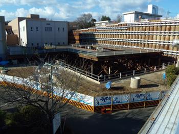 神奈川県横浜市の建設会社 / 建築・土木、設計施工、リフォーム、リニューアル、土地活用、外断熱中部下水処理場雨水滞水池・沈殿池建設工事 竣工しました